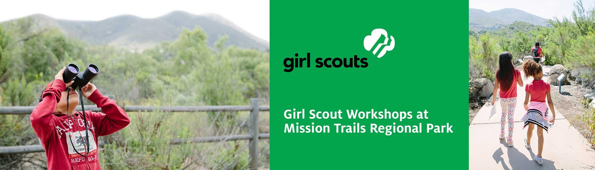 Girl Scout Workshops at Mission Trails Regional Park